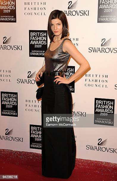 Ben Grimes attends the British Fashion Awards at Royal Courts of Justice Strand on December 9 2009 in London England