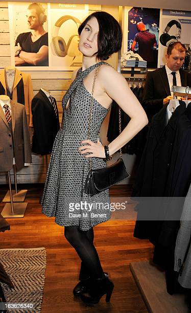 Ben Grimes attends the Panasonic Technics 'Shop To The Beat' Party hosted by George Lamb at French Connection Oxford Circus on March 13 2013 in...