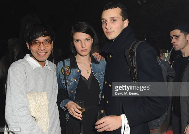 Ben Grimes Nicola Formichetti celebrates his first capsule collection #DIESELTRIBUTE at launch party hosted by Diesel and Dazed and Confused Magazine...