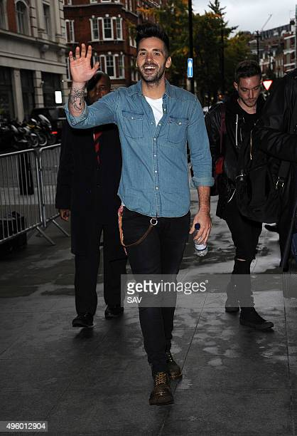 Ben Haenow at the BBC on November 6 2015 in London England