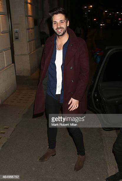 Ben Haenow attending The Sun Bizarre Party at Steam and Rye on March 2 2015 in London England