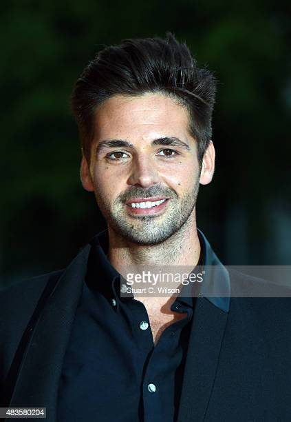 Ben Haenow attends the Believe in Magic Cinderella Ball at Natural History Museum on August 10 2015 in London England