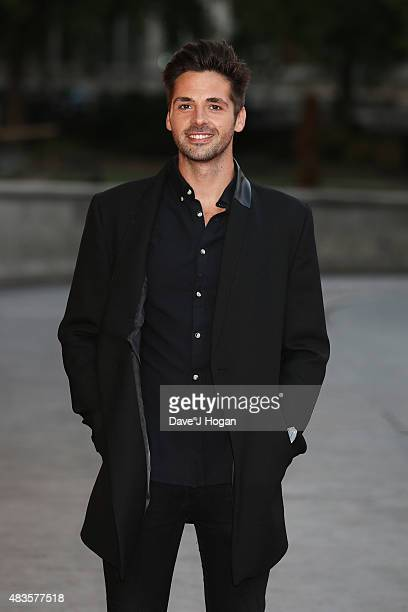 Ben Haenow attends the Believe in Magic Cinderella Ball at the Natural History Museum on August 10 2015 in London England