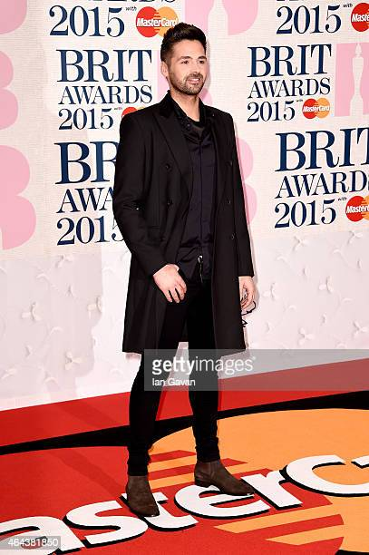 Ben Haenow attends the BRIT Awards 2015 at The O2 Arena on February 25 2015 in London England
