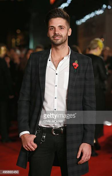 Ben Haenow attends 'The Hunger Games Mockingjay Part 2' UK Premiere at the Odeon Leicester Square on November 5 2015 in London England