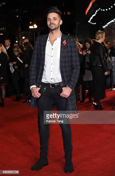 Ben Haenow attends The Hunger Games Mockingjay Part 2 UK Premiere at Odeon Leicester Square on November 5 2015 in London England