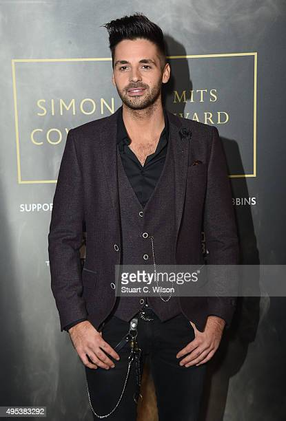 Ben Haenow attends the Music Industry Trust Awards at The Grosvenor House Hotel on November 2 2015 in London England