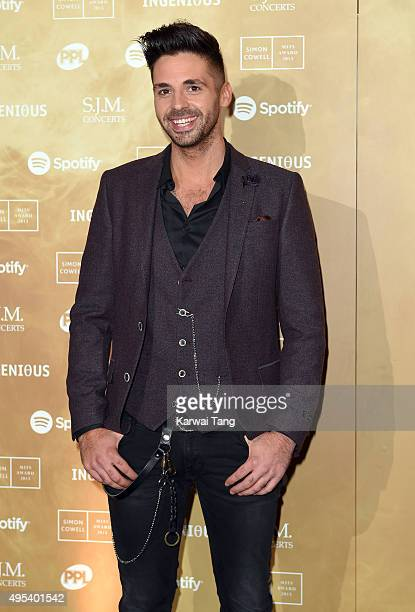 Ben Haenow attends the Music Industry Trusts Awards in aid of the Nordoff Robbins charity and BRIT Trust at The Grosvenor House Hotel on November 2...