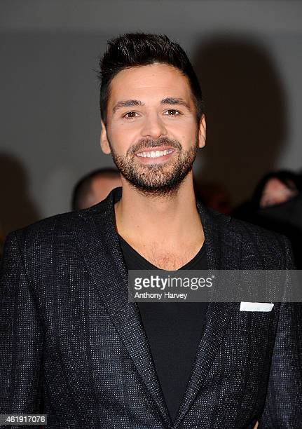 Ben Haenow attends the National Television Awards at 02 Arena on January 21 2015 in London England