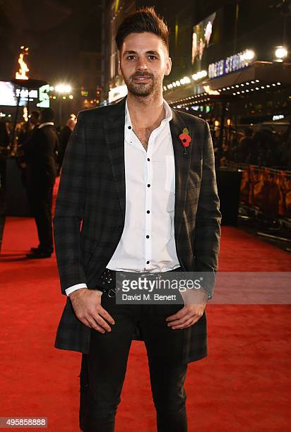 Ben Haenow attends the UK Premiere of 'The Hunger Games Mockingjay Part 2' at Odeon Leicester Square on November 5 2015 in London England