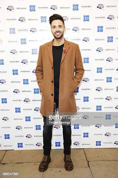 Ben Haenow attends The World Famous Oxford Street Christmas Lights Switch On Event taking place at the Pandora Flagship Store on November 1 2015 in...