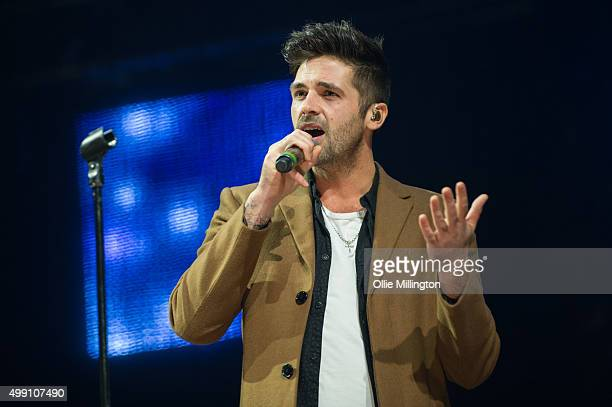 Ben Haenow performs onstage During Free Radio 2015 at Genting Arena on November 28 2015 in Birmingham England