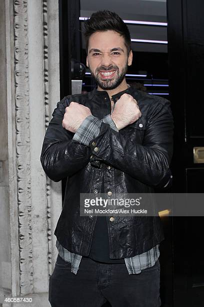 Ben Haenow seen at KISS FM UK on December 17 2014 in London England