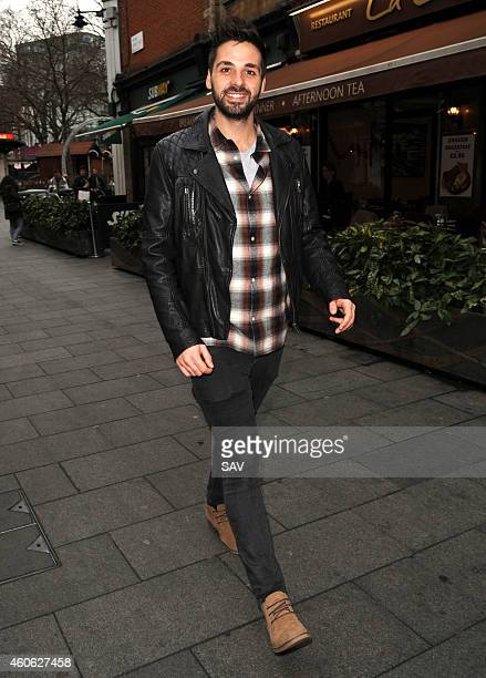Ben Haenow sighting at Global House on December 18 2014 in London England