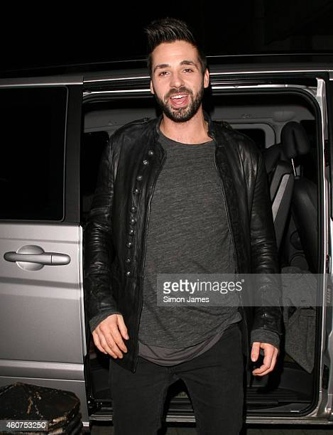 Ben Haenow sighting at the BBC radio one studios on December 21 2014 in London England