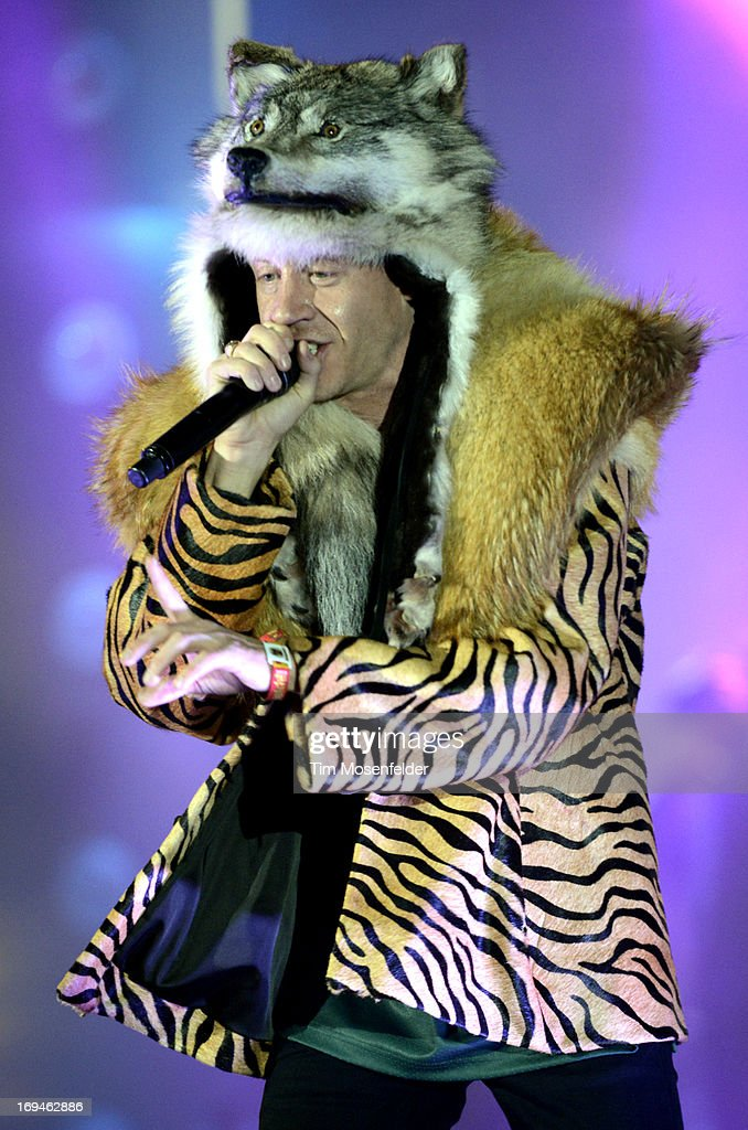 Ben Haggerty aka Macklemore of Macklemore & Ryan Lewis performs as part of the Day 1 of the Sasquatch! Music Festival at the Gorge Amphitheatre on May 24, 2013 in George, Washington.