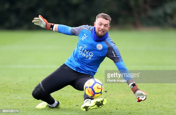 Ben Hamer of Leicester Cityduring the Leicester City training session at Belvoir Drive Training Complex on November 02 2017 in Leicester United...