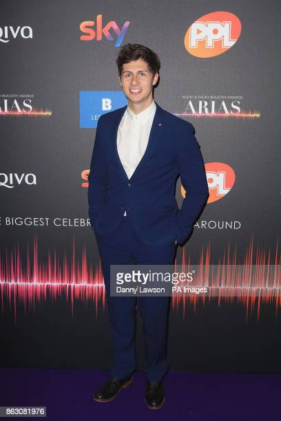 Ben Hanlin attending the Audio and Radio Industry Awards at the First Direct Arena in Leeds