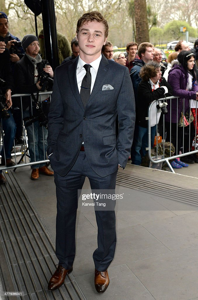 Ben Hardy attends the 2014 TRIC Awards at The Grosvenor House Hotel on March 11, 2014 in London, England.