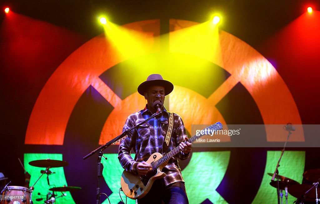 Ben Harper and the Innocent Criminals perform onstage during Boston Calling Music Festival Day 2 at Boston City Hall Plaza on May 23 2015 in Boston...