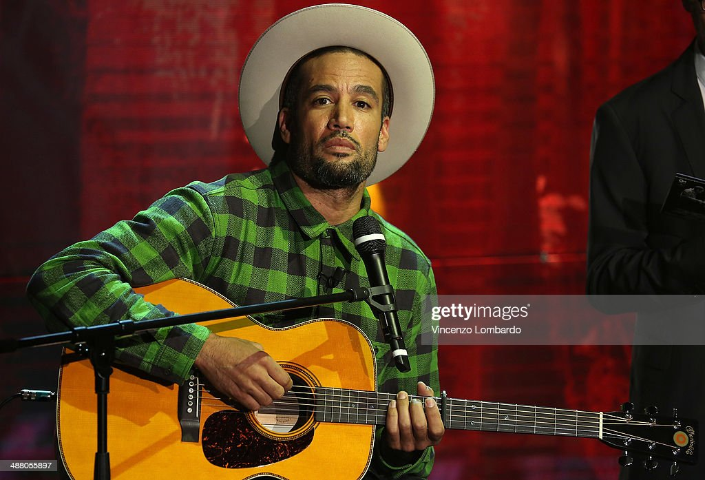 Ben Harper attends at Che Tempo Che Fa' Tv Show on May 3 2014 in Milan Italy