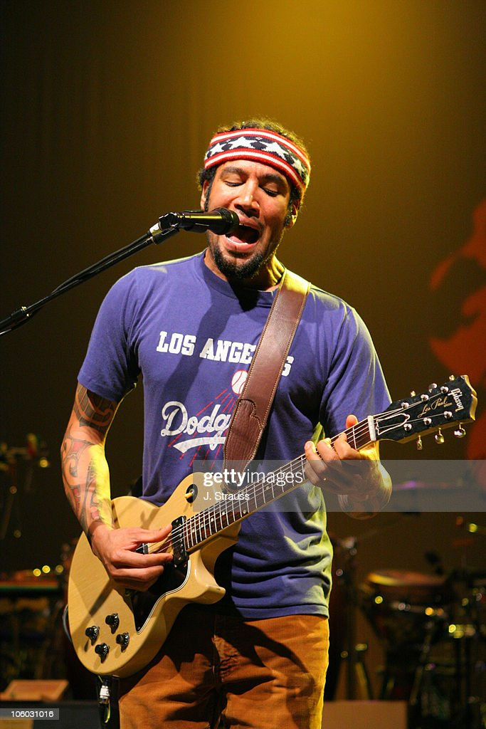 Ben Harper during Ben Harper Performs Live at the Greek - August 11, 2006 at The Greek in Los Angeles, California, United States.