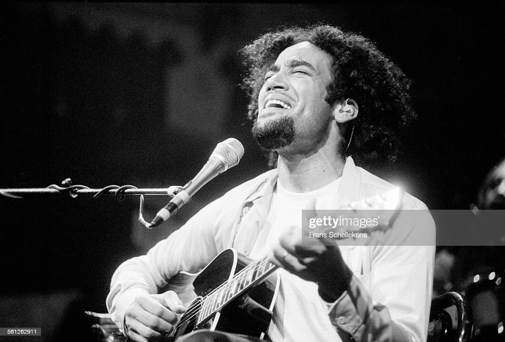 Ben Harper guitar and vocals performs on October 23rd 1997 at the Paradiso in Amsterdam Netherlands