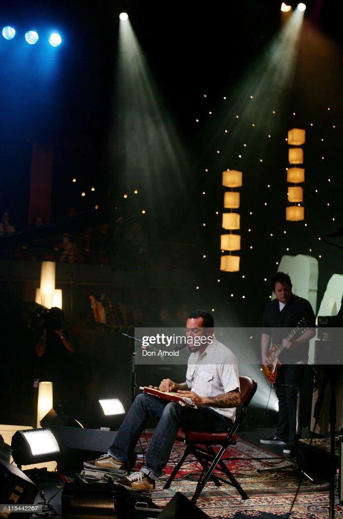 Ben Harper and Relentless 7 concert at the Sydney Opera House on November 23 2009 in Sydney Australia