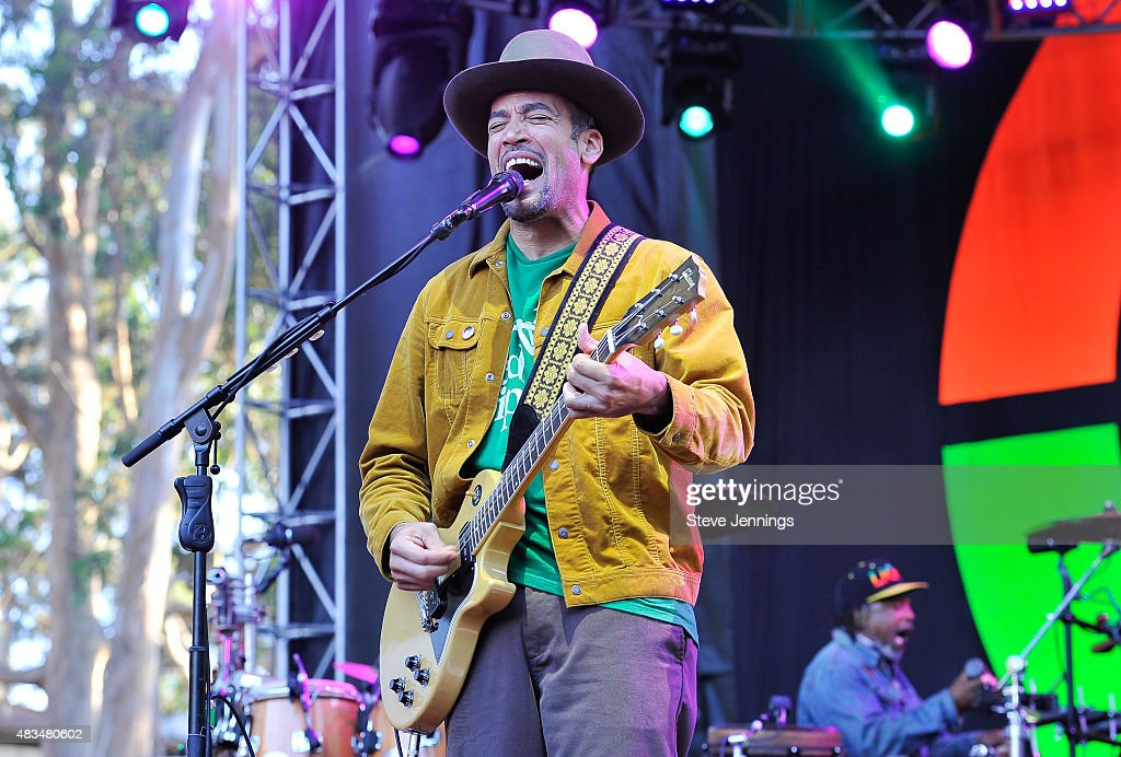 Ben Harper performs on Day 2 of the 8th Annual Outside Lands Festival at Golden Gate Park on August 8 2015 in San Francisco California