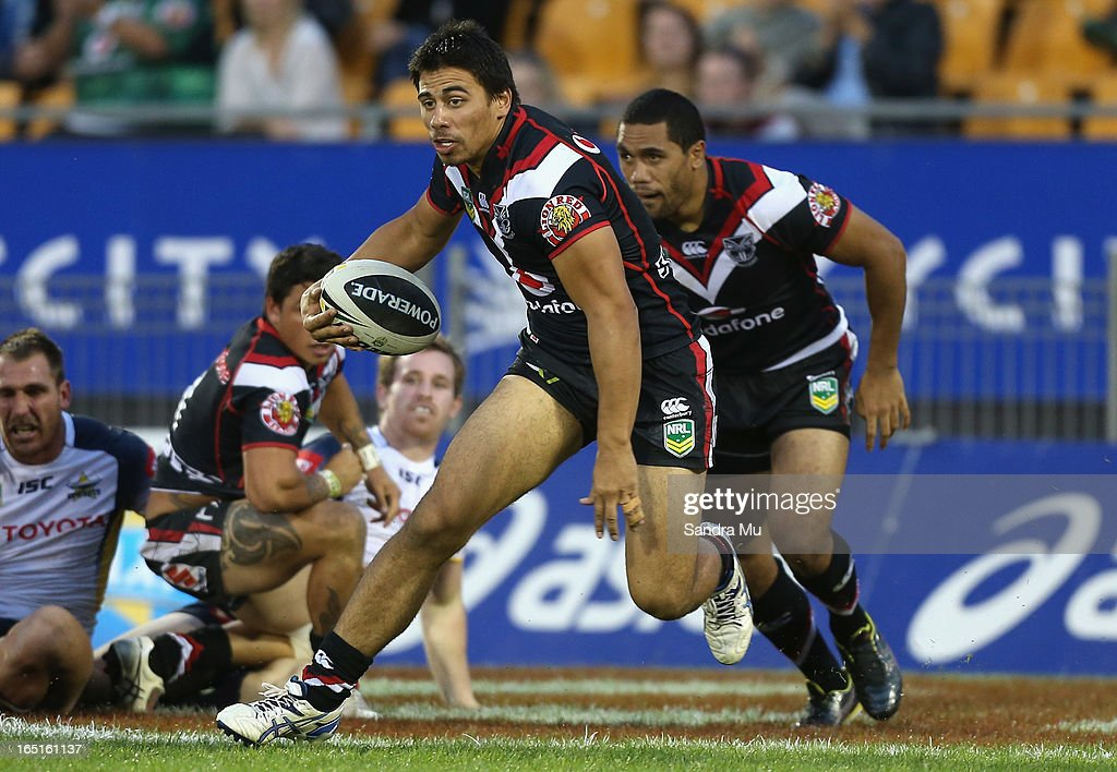 Ben Henry of the Warriors in action during the round four NRL match between the New Zealand Warriors and the North Queensland Cowboys at Mt Smart Stadium on April 1, 2013 in Auckland, New Zealand.