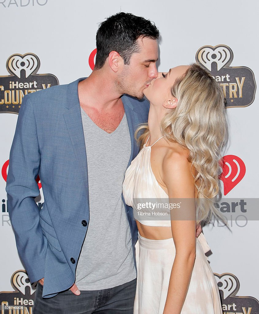 Ben Higgins and Lauren Bushnell attend the 2016 iHeartCountry Festival at The Frank Erwin Center on April 30, 2016 in Austin, Texas.