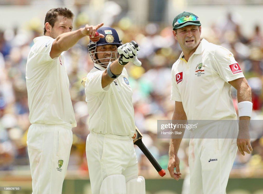 Australia v India - Third Test: Day 1 : News Photo