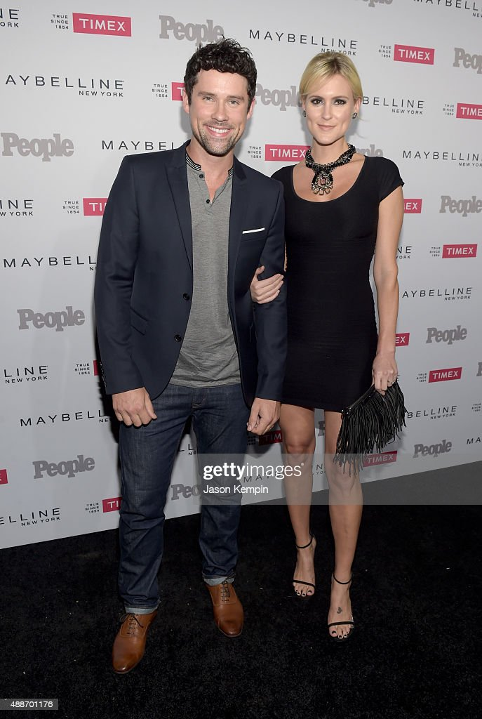 Ben Hollingsworth and Nila Hollingsworth attend PEOPLE's Ones To Watch Event on September 16 2015 in West Hollywood California