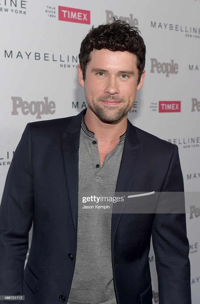 Ben Hollingsworth attends PEOPLE's Ones To Watch Event on September 16 2015 in West Hollywood California