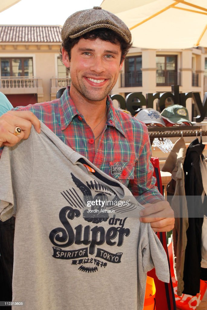 Ben Hollingsworth poses with Superdry at the Kari Feinstein MTV Movie Awards Style Lounge held at Montage Beverly Hills on June 4, 2010 in Beverly Hills, California.