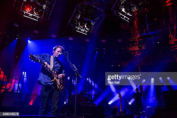 Ben Howard performs as part of the iTunes Festival at The Roundhouse on September 24 2014 in London England