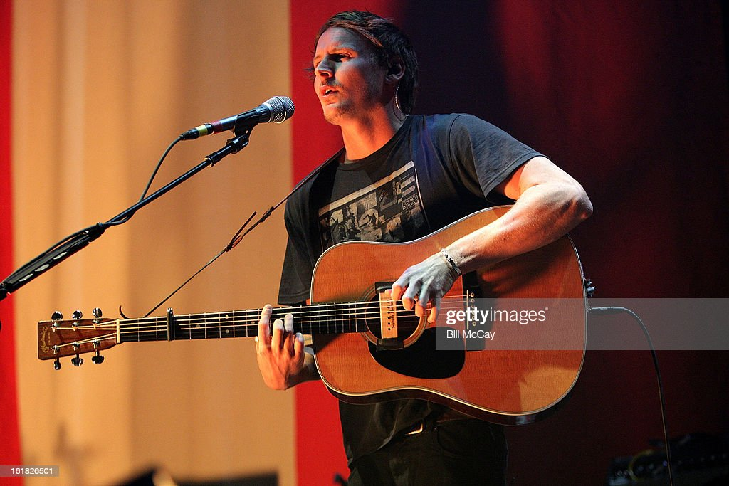 Ben Howard performs at the Susquehanna Bank Center February 16, 2013 in Camden, New Jersey.