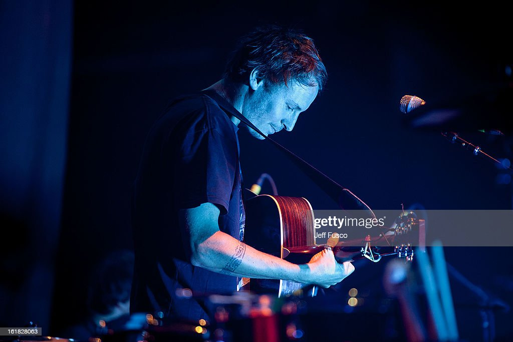 Ben Howard performs at the Susquehanna Bank Center on February 16, 2013 in Camden, New Jersey.