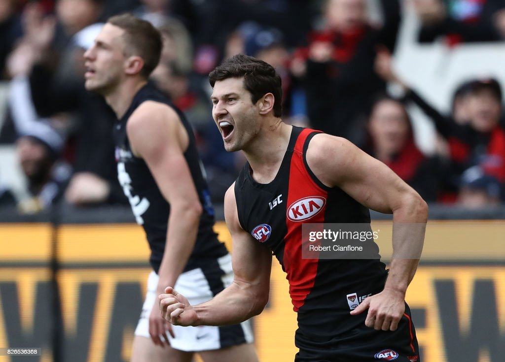 AFL Rd 20 - Essendon v Carlton