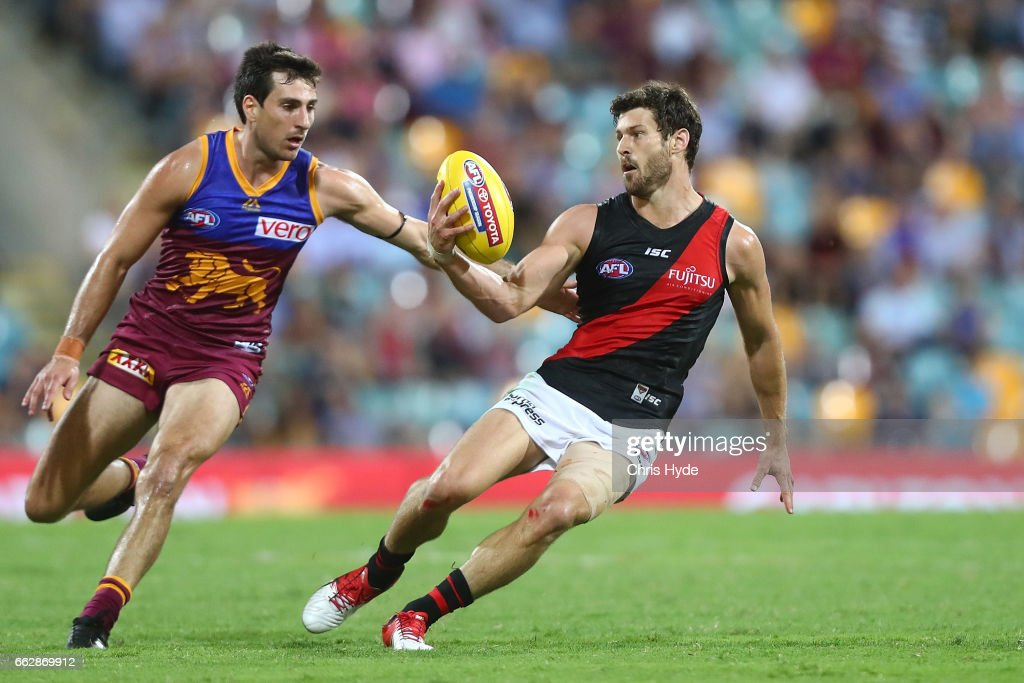 AFL Rd 2 - Brisbane v Essendon