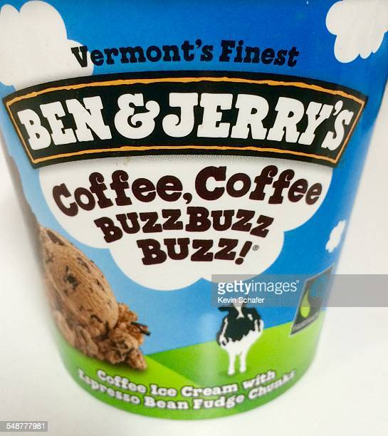 Ben Jerry's Ice Cream Coffee Coffee Buzz Buzz Buzz Flavor