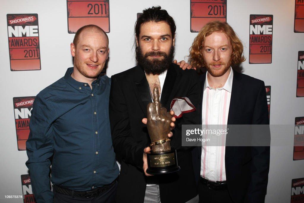 Shockwaves NME Awards 2011 - Winners Boards