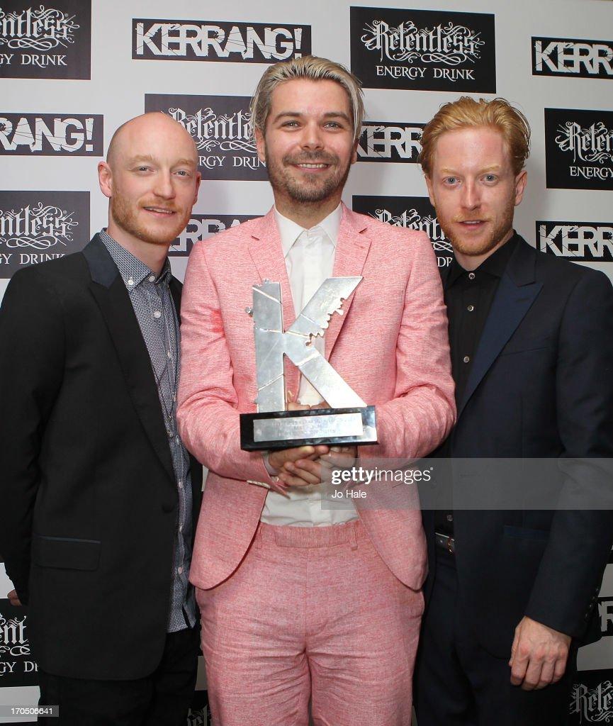 The Kerrang! Awards - Winners Room