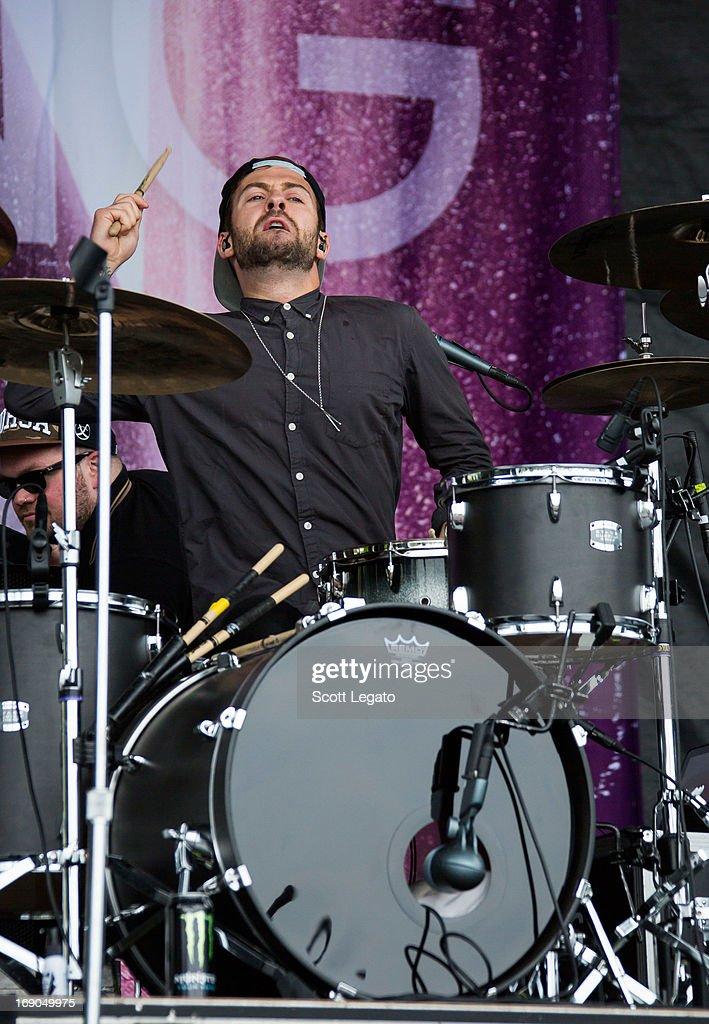 Ben Jolliffe of Young Guns performs during 2013 Rock On The Range at Columbus Crew Stadium on May 18, 2013 in Columbus, Ohio.