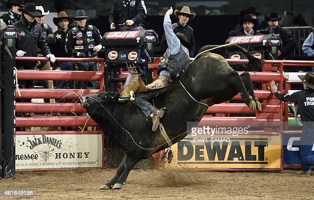 Professional Bull Riders Stock Photos And Pictures Getty Images