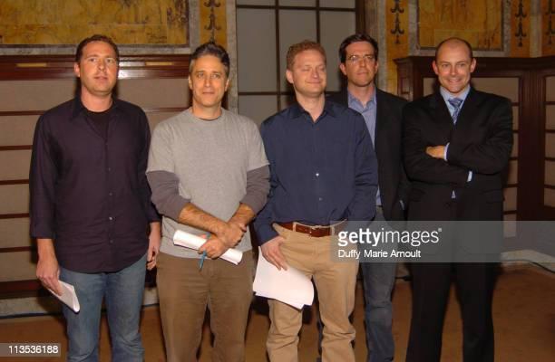 Ben Karlin Jon Stewart David Javenbaum Ed Helms and Rob Corddry