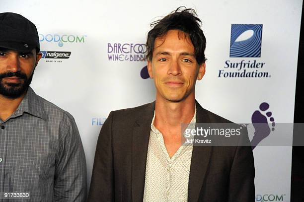 Ben Kenney and Brandon Boyd attends The Surfrider Foundation's 25th Anniversary Gala at the California Science Center's Wallis Annenberg Building on...