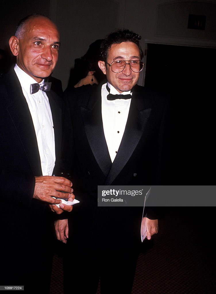 Ben Kingsley and Robbi Marvin Heir during 1989 National Tribute Dinner Hosted By The Simon Weisenthal Center at Century Plaza Hotel in Century City, California, United States.