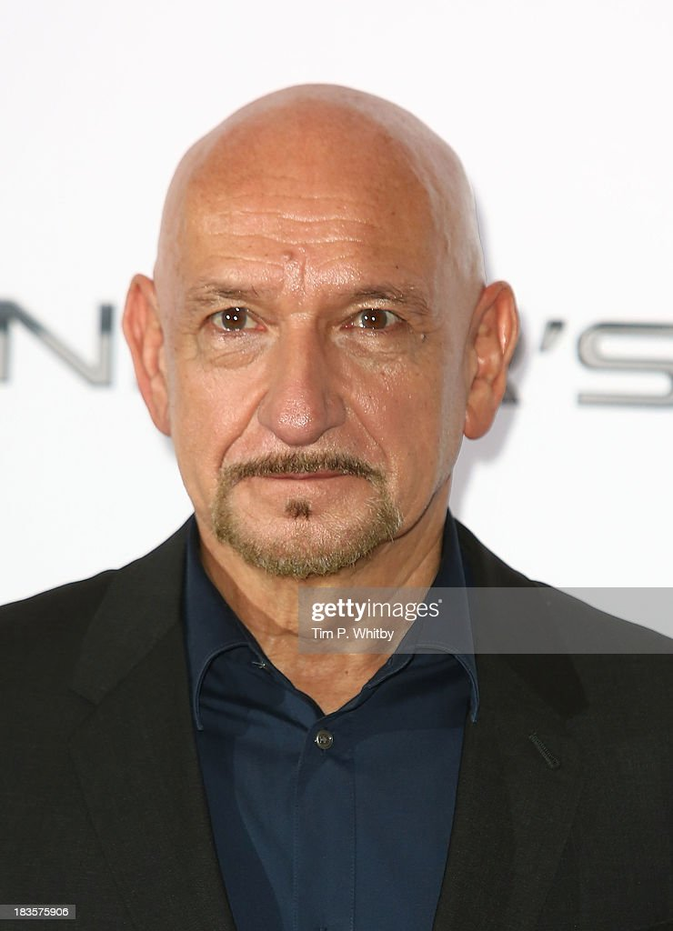 Ben Kingsley attends a photocall to promote 'Ender's Game' at Odeon Leicester Square on October 7, 2013 in London, England.