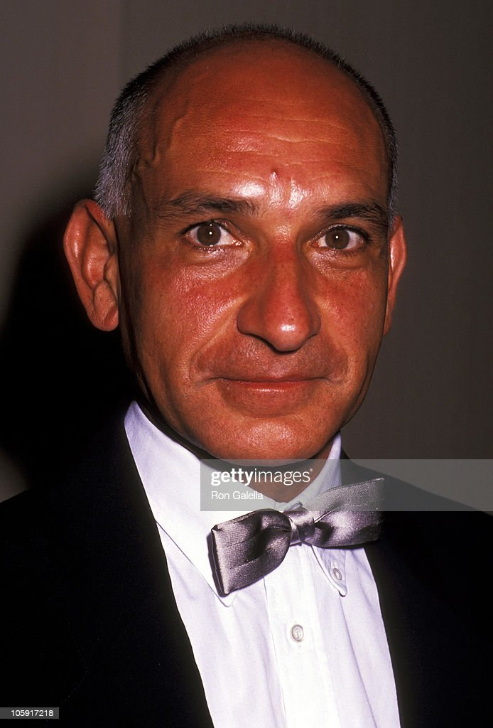 Ben Kingsley during 1989 National Tribute Dinner Hosted By The Simon Weisenthal Center at Century Plaza Hotel in Century City, California, United States.